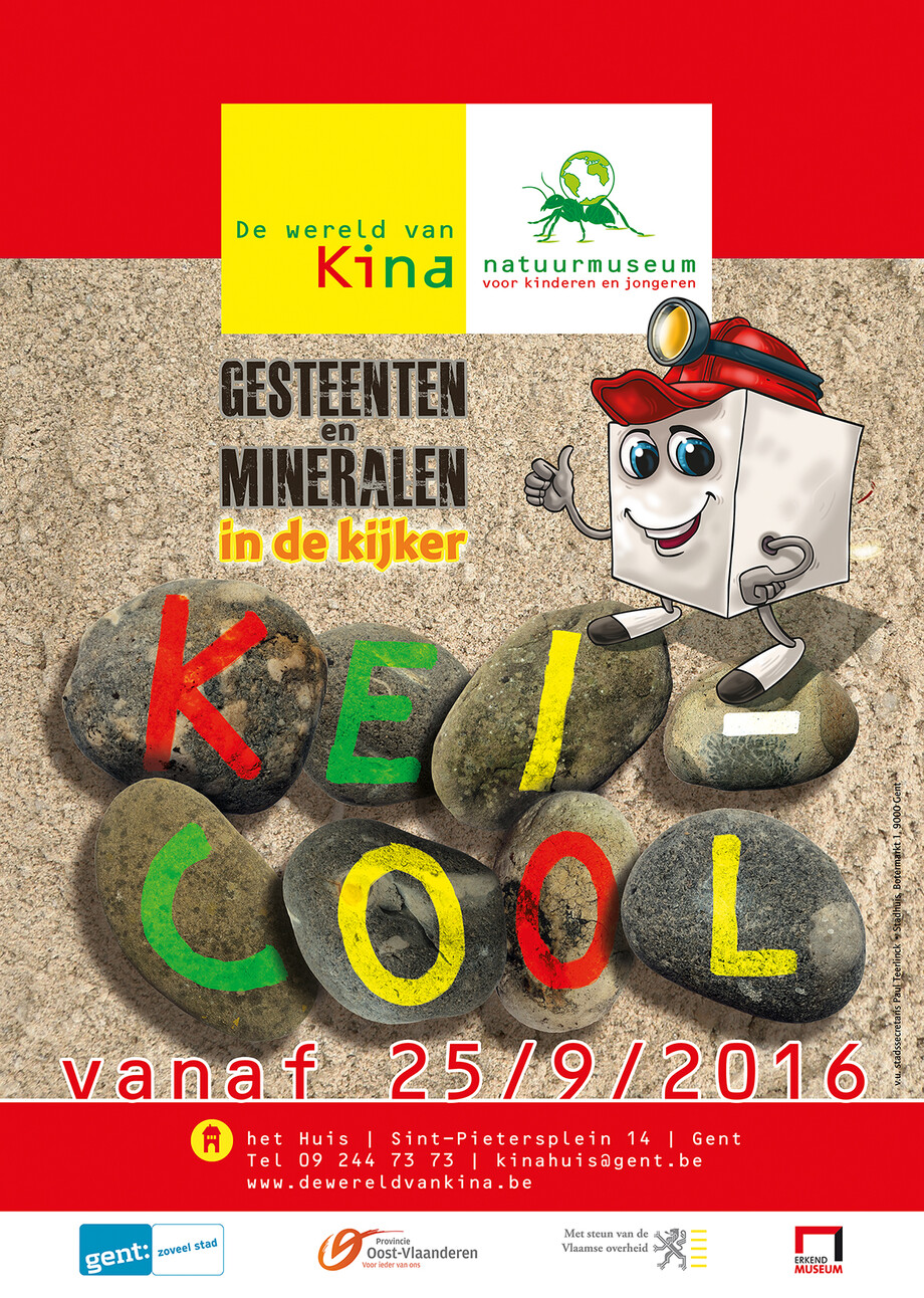 Expo over gesteenten en mineralen